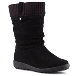 Cougar Women's Vienna Black Suede Waterproof Boots